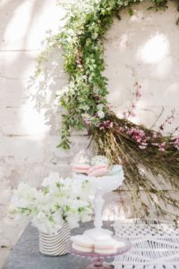 Wreath from a Floral Easter Brunch on Kara's Party Ideas | KarasPartyIdeas.com (18)