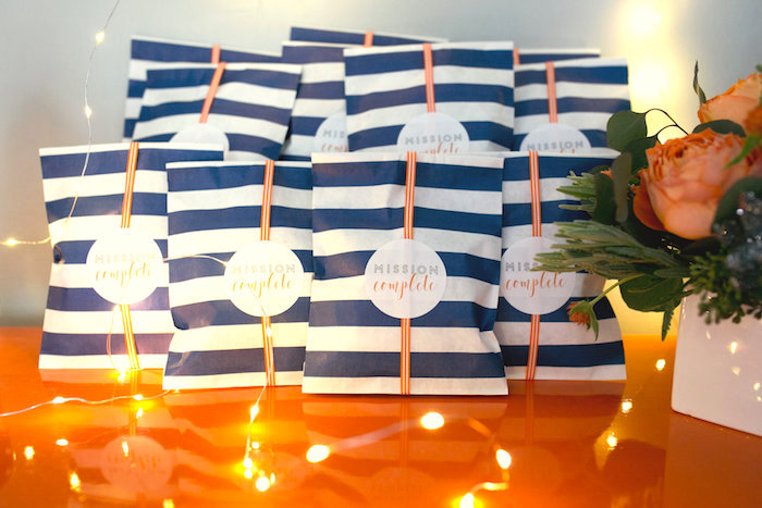 """Favors from a """"Fly Me to the Moon"""" Joint Birthday Party on Kara's Party Ideas 