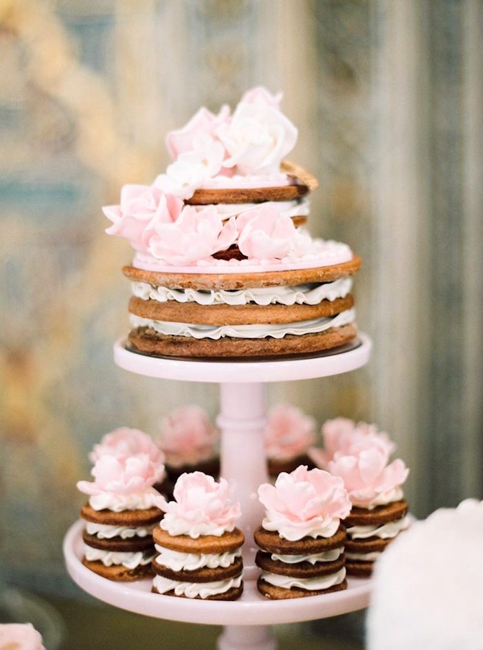 Spice cookie cakes from a Glamorous Unicorn Christening Party on Kara's Party Ideas | KarasPartyIdeas.com (16)