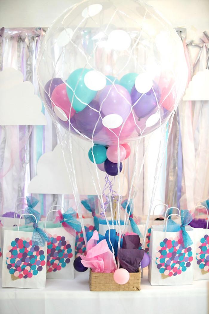party ideas girly hot air balloon birthday party kara 39 s party ideas