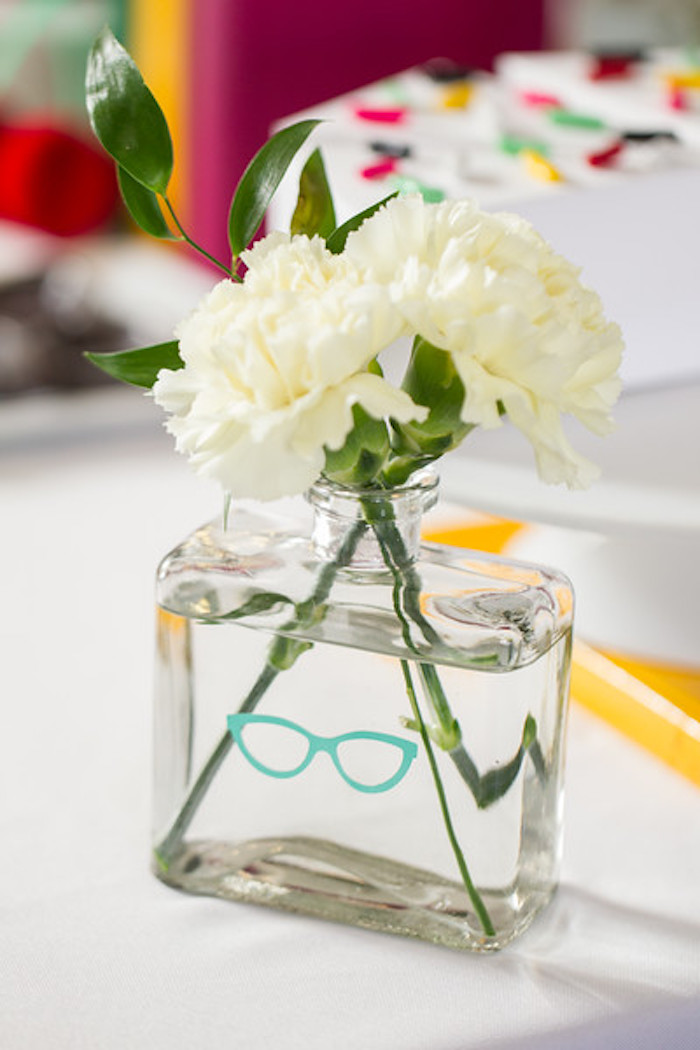 Kate Spade blooms from a Kate Spade Inspired Bridal Shower on Kara's Party Ideas | KarasPartyIdeas.com (17)
