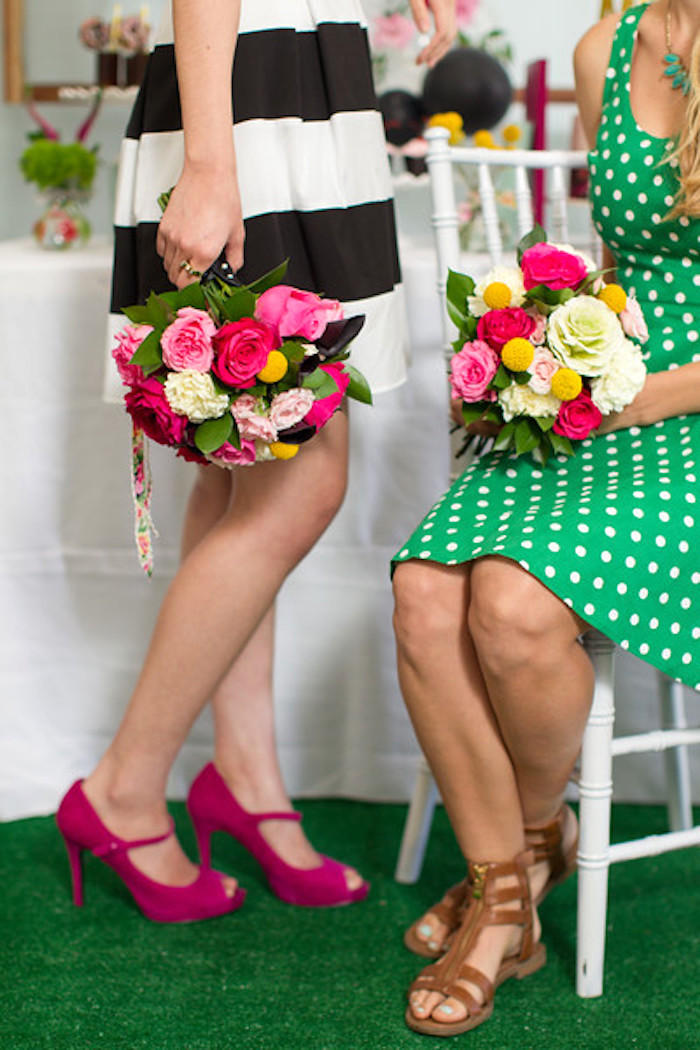 Kate Spade Inspired Bridal Shower on Kara's Party Ideas | KarasPartyIdeas.com (16)