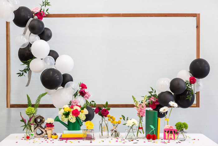 Kate Spade Inspired Bridal Shower on Kara's Party Ideas | KarasPartyIdeas.com (14)