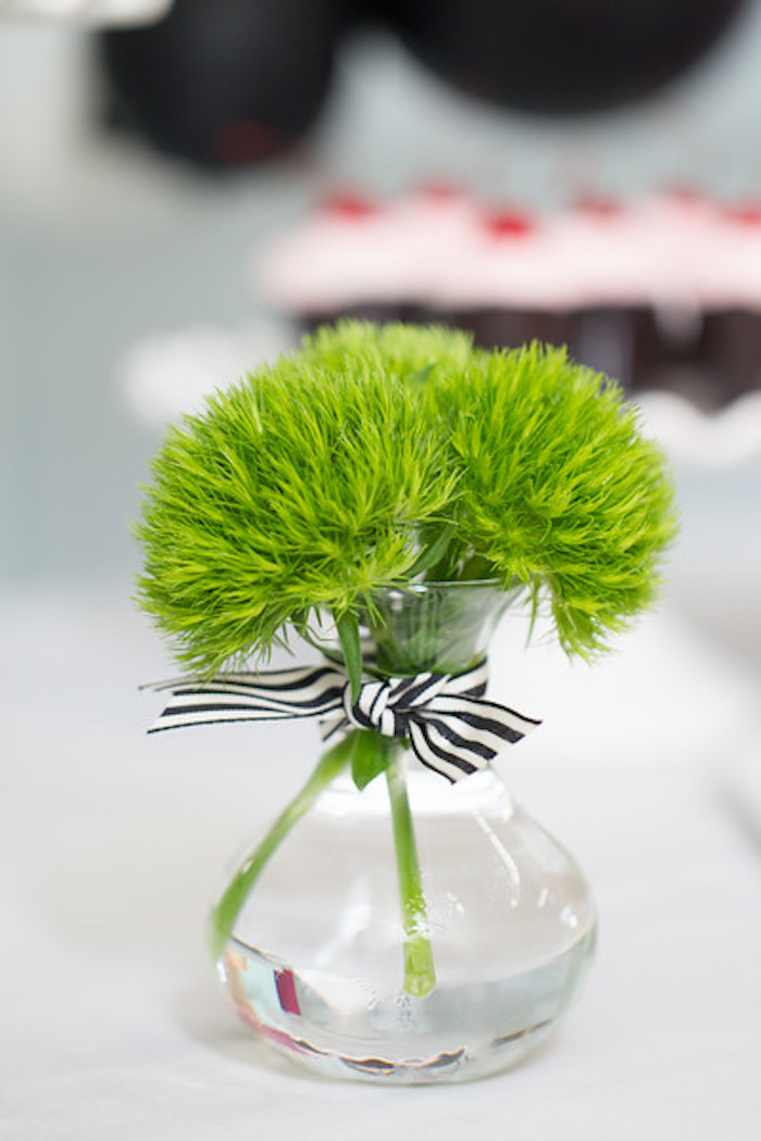 Blooms from a Kate Spade Inspired Bridal Shower on Kara's Party Ideas | KarasPartyIdeas.com (12)