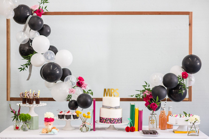 kate spade inspired bridal shower on karau0027s party ideas 11