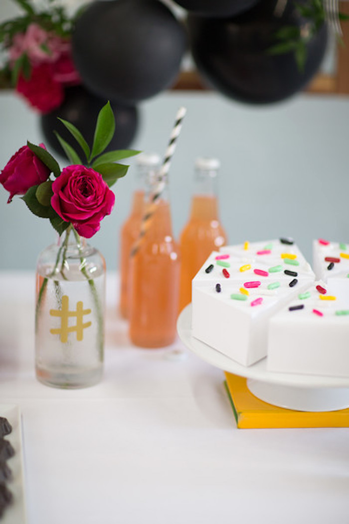 Kate Spade Inspired Bridal Shower on Kara's Party Ideas | KarasPartyIdeas.com (9)