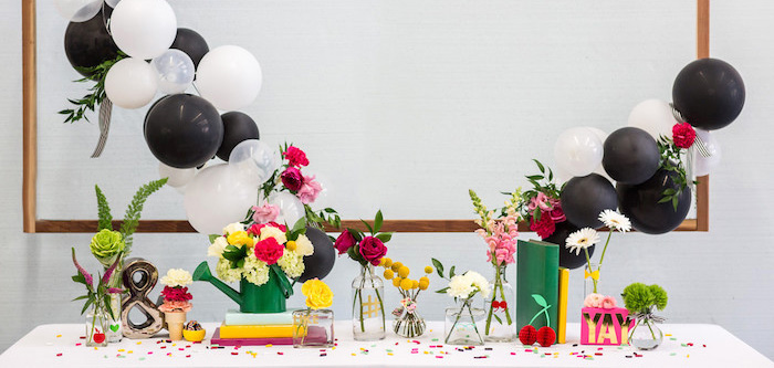 Kate Spade Inspired Bridal Shower on Kara's Party Ideas | KarasPartyIdeas.com (1)