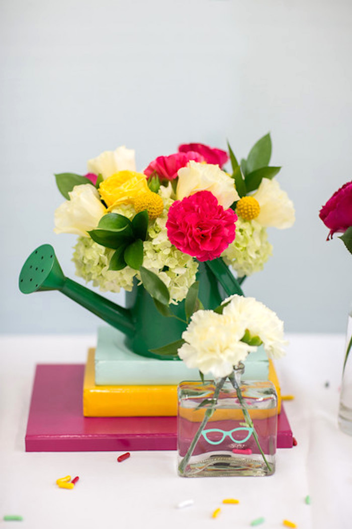Blooms from a Kate Spade Inspired Bridal Shower on Kara's Party Ideas | KarasPartyIdeas.com (25)