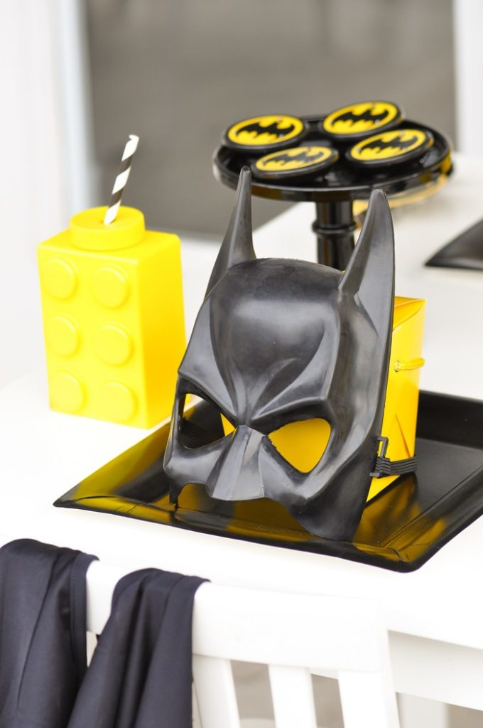 Lego Batman Themed Birthday Party by Kara's Party Ideas - KarasPartyIdeas.com for Lego Batman Movie