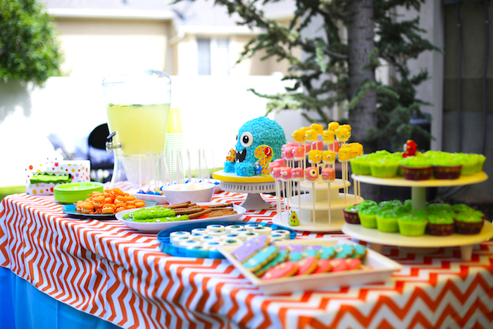 Little Monster Birthday Party on Kara's Party Ideas | KarasPartyIdeas.com (15)