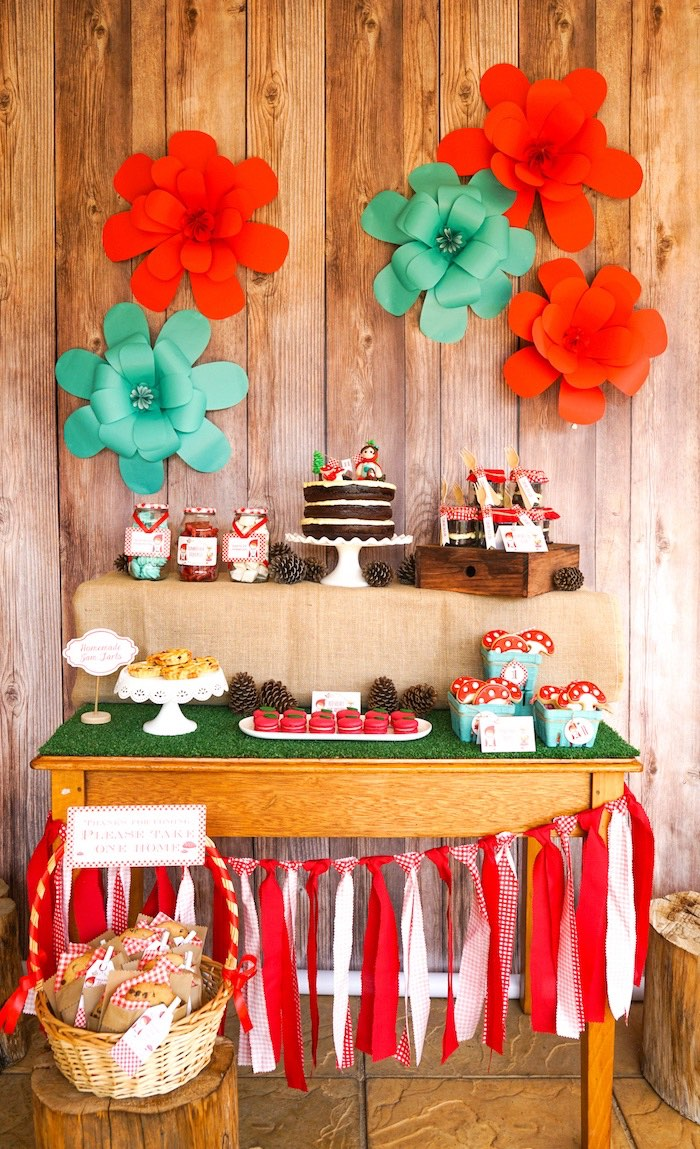 Little Red Riding Hood Birthday Party on Kara's Party Ideas | KarasPartyIdeas.com (20)