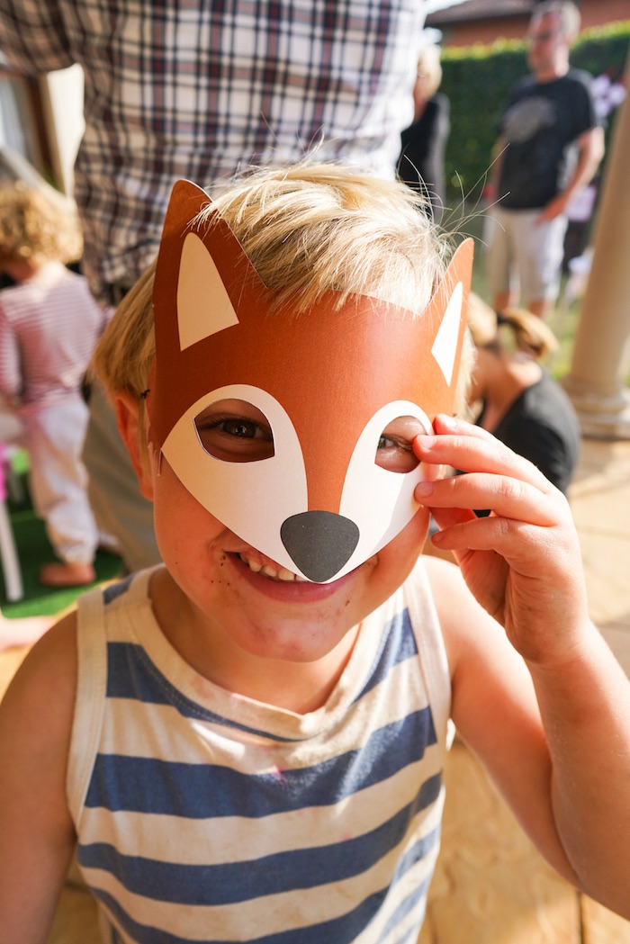 Little fox from a Little Red Riding Hood Birthday Party on Kara's Party Ideas | KarasPartyIdeas.com (18)