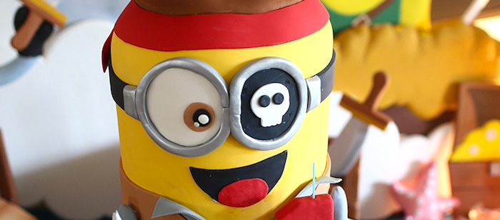 Minion Pirates Birthday Party on Kara's Party Ideas | KarasPartyIdeas.com (1)