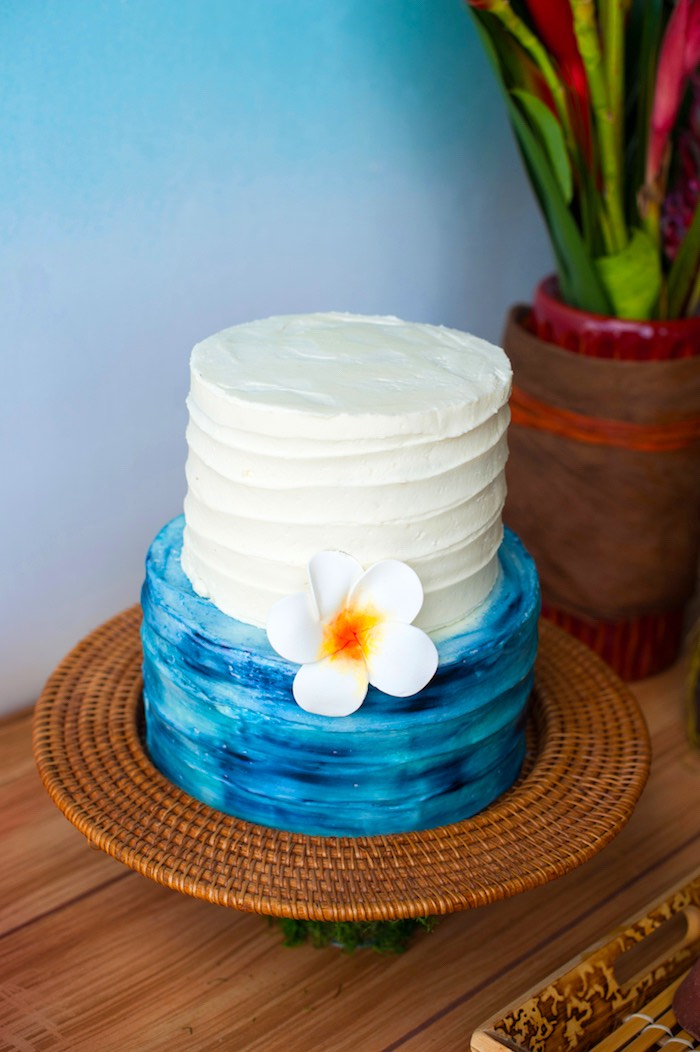 Karas Party Ideas Moana Inspired Birthday Party