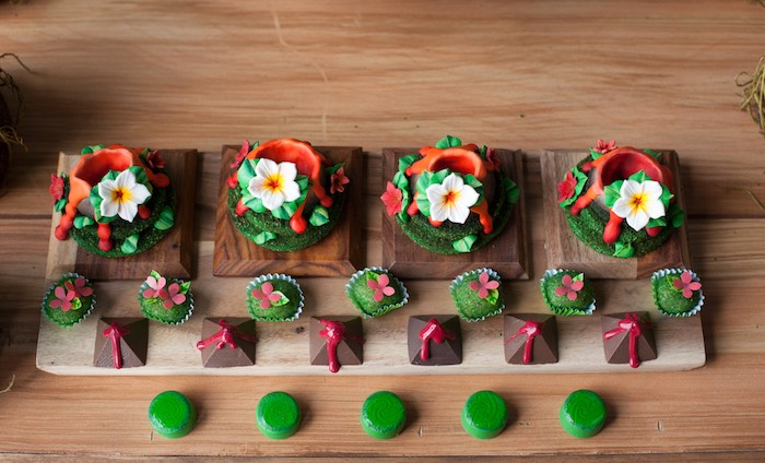 Sweets from a Moana Inspired Birthday Party on Kara's Party Ideas | KarasPartyIdeas.com (16)