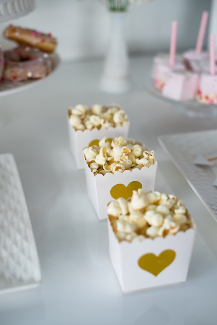Heart popcorn boxes from a Mom & Me Valentine's Day Party on Kara's Party Ideas | KarasPartyIdeas.com (18)