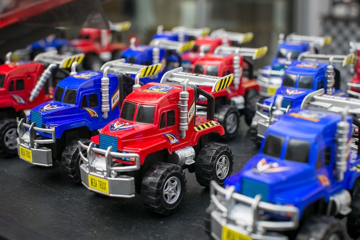 Monster truck favors from a Monster Truck Birthday Party on Kara's Party Ideas | KarasPartyIdeas.com (22)