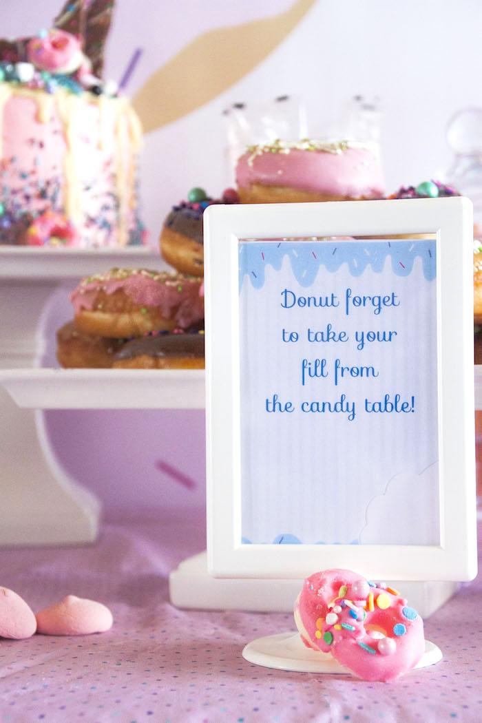kara u0026 39 s party ideas pastel pink  u0026 blue donut birthday party