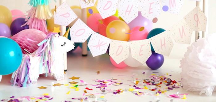 Pastel Unicorn Birthday Party on Kara's Party Ideas | KarasPartyIdeas.com (1)