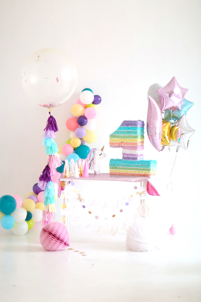 Pastel Unicorn Birthday Party on Kara's Party Ideas | KarasPartyIdeas.com (10)