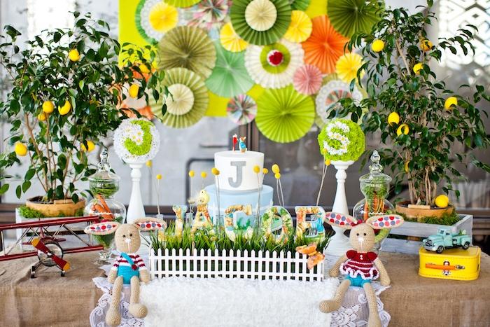 Peter Rabbit Birthday Party on Kara's Party Ideas | KarasPartyIdeas.com (21)