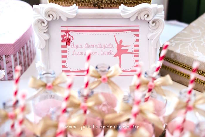 Ballerina print from a Pink Ballerina Birthday Party on Kara's Party Ideas | KarasPartyIdeas.com (9)