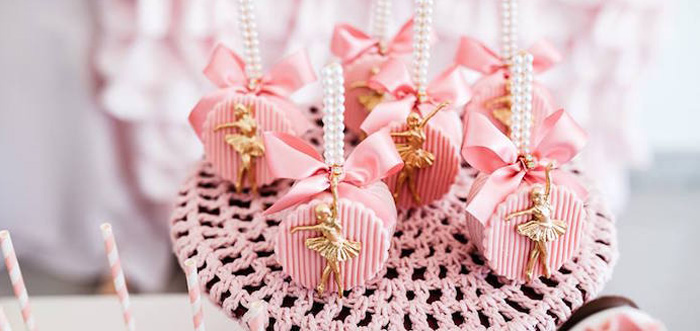 Pink Ballerina Birthday Party on Kara's Party Ideas | KarasPartyIdeas.com (6)