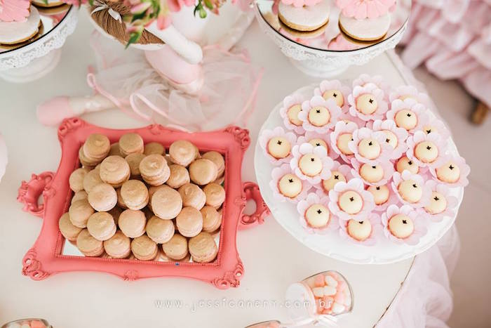 Sweets from a Pink Ballerina Birthday Party on Kara's Party Ideas   KarasPartyIdeas.com (35)