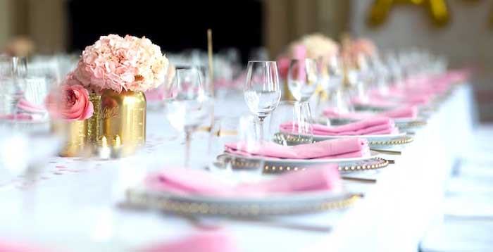 Pretty in Pink Bat Mitzvah Birthday Party on Kara's Party Ideas | KarasPartyIdeas.com (2)