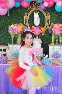 Rainbow Unicorn Birthday Party on Kara's Party Ideas | KarasPartyIdeas.com (24)