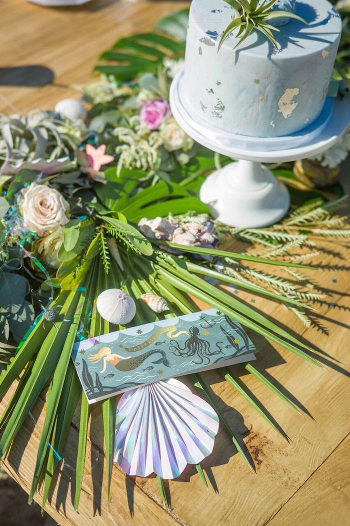 Seaside Mermaid Party on Kara's Party Ideas | KarasPartyIdeas.com (13)