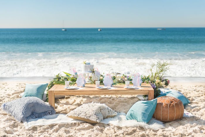 Seaside Mermaid Party on Kara's Party Ideas | KarasPartyIdeas.com (27)