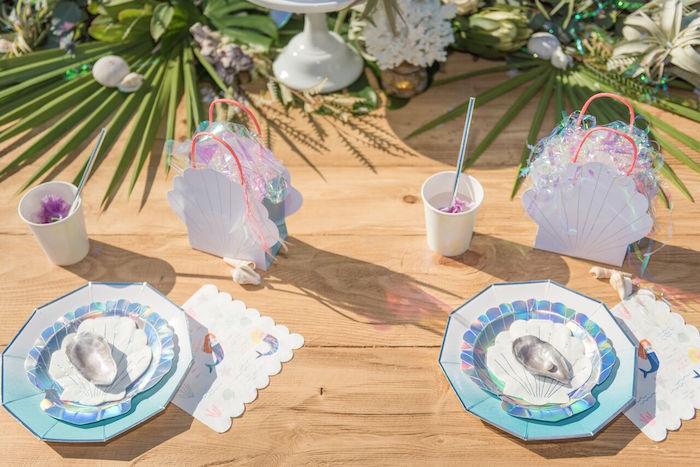 Seaside Mermaid Party on Kara's Party Ideas | KarasPartyIdeas.com (23)