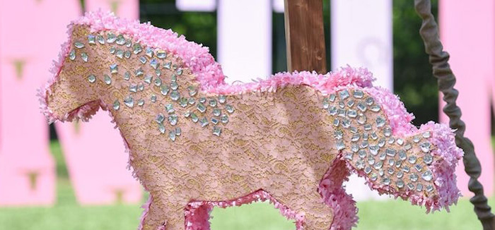 Shabby Chic Cowgirl Birthday Party on Kara's Party Ideas | KarasPartyIdeas.com (2)