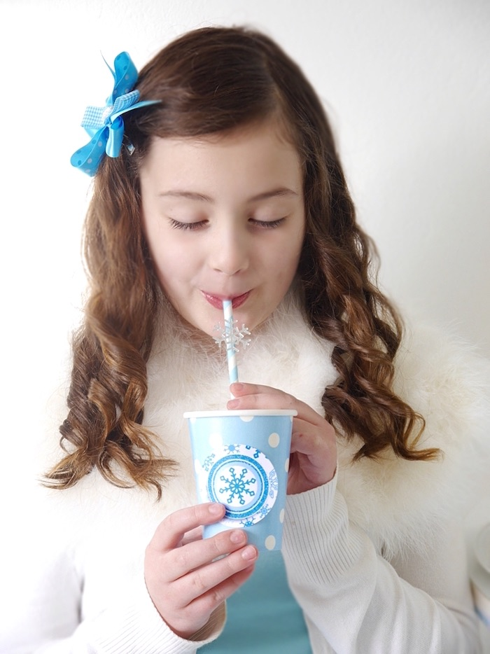 Shimmering Frozen Birthday Party on Kara's Party Ideas | KarasPartyIdeas.com (19)