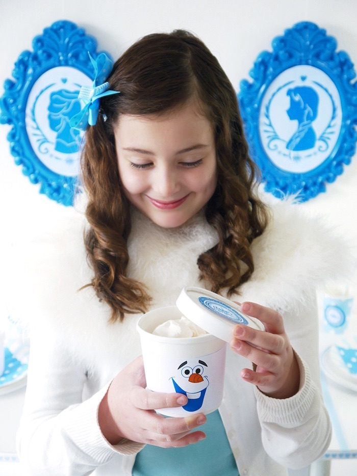 Snowballs from a Shimmering Frozen Birthday Party on Kara's Party Ideas | KarasPartyIdeas.com (9)