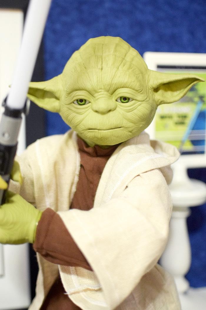 Yoda from a Star Wars Birthday Party on Kara's Party Ideas   KarasPartyIdeas.com (6)