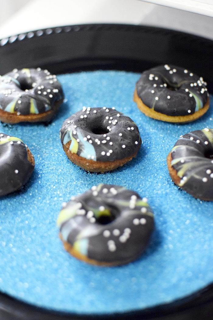 Mini doughnuts from a Star Wars Birthday Party on Kara's Party Ideas | KarasPartyIdeas.com (19)