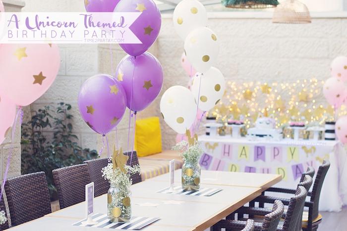 Starry Unicorn Birthday Party on Kara's Party Ideas | KarasPartyIdeas.com (31)