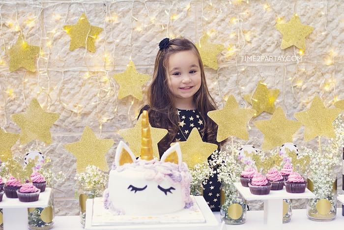 Starry Unicorn Birthday Party on Kara's Party Ideas | KarasPartyIdeas.com (29)