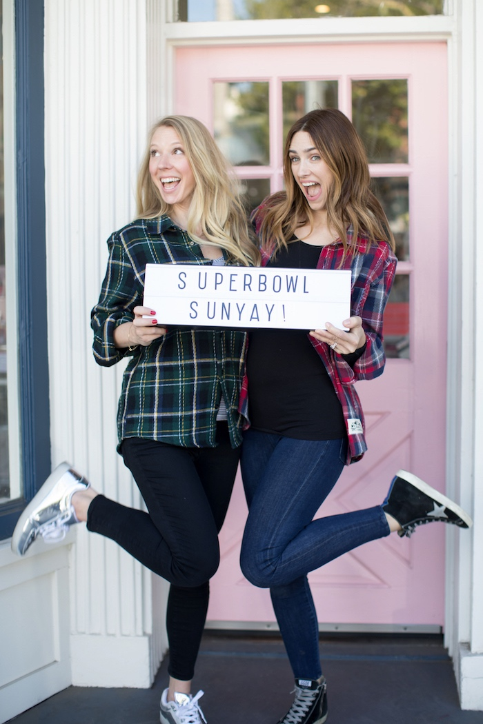 Lightbox sign from a SuperBowl Sunyay Football Party on Kara's Party Ideas | KarasPartyIdeas.com (9)