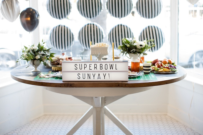 SuperBowl Sunyay Football Party on Kara's Party Ideas | KarasPartyIdeas.com (8)
