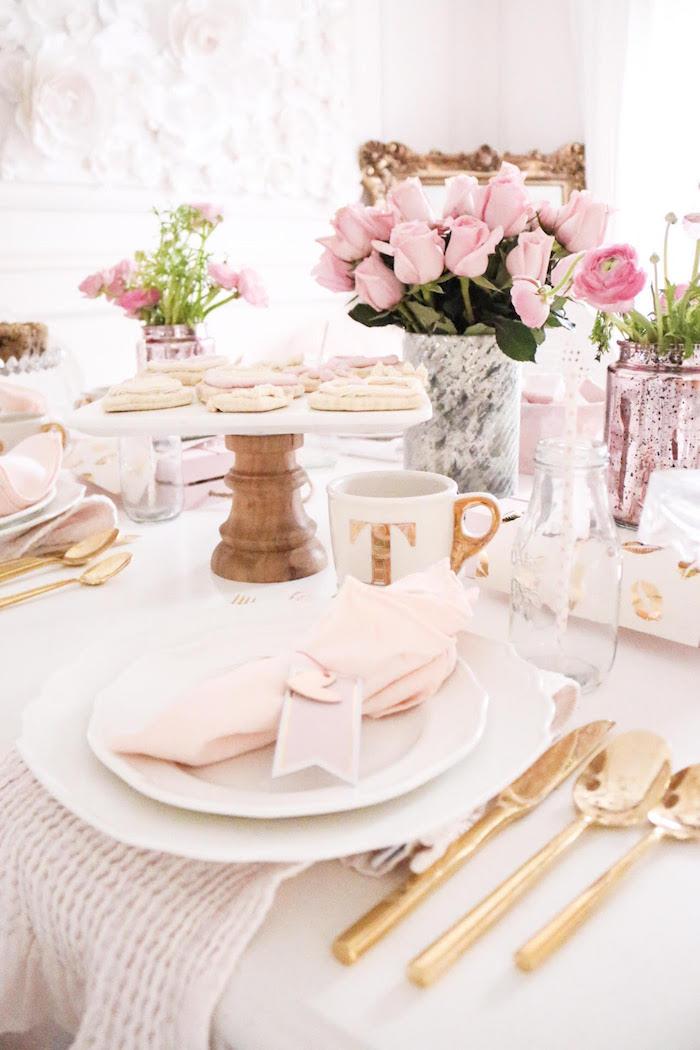 kara 39 s party ideas sweet and elegant valentine 39 s day party kara 39 s party ideas. Black Bedroom Furniture Sets. Home Design Ideas