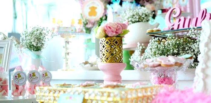 TOUS Teddy Bear Baby Shower on Kara's Party Ideas | KarasPartyIdeas.com (1)