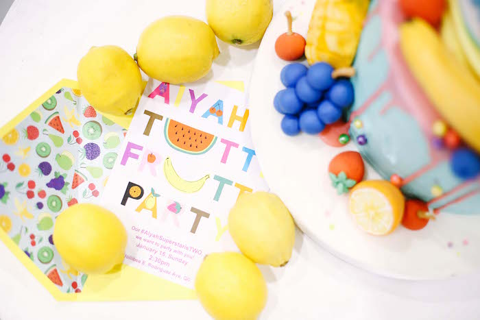 Invitation from a TWOtti Frutti Birthday Party on Kara's Party Ideas | KarasPartyIdeas.com (17)