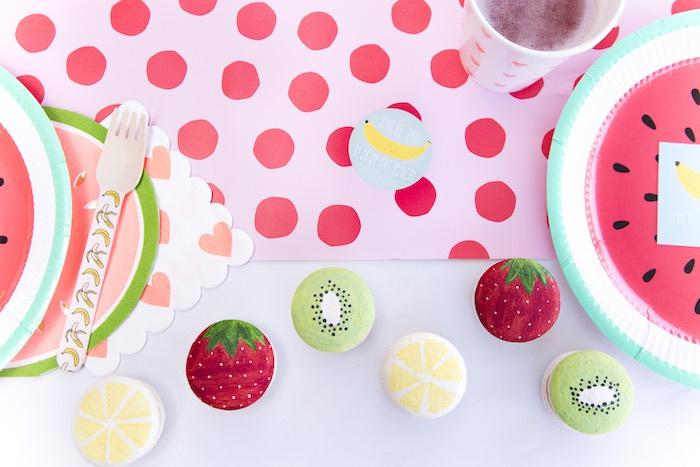 Tutti Frutti Valentine's Day Party on Kara's Party Ideas | KarasPartyIdeas.com (20)