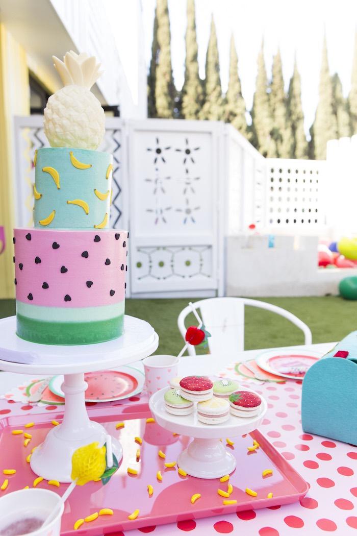 Kara S Party Ideas Tutti Frutti Valentine S Day Party Kara S Party