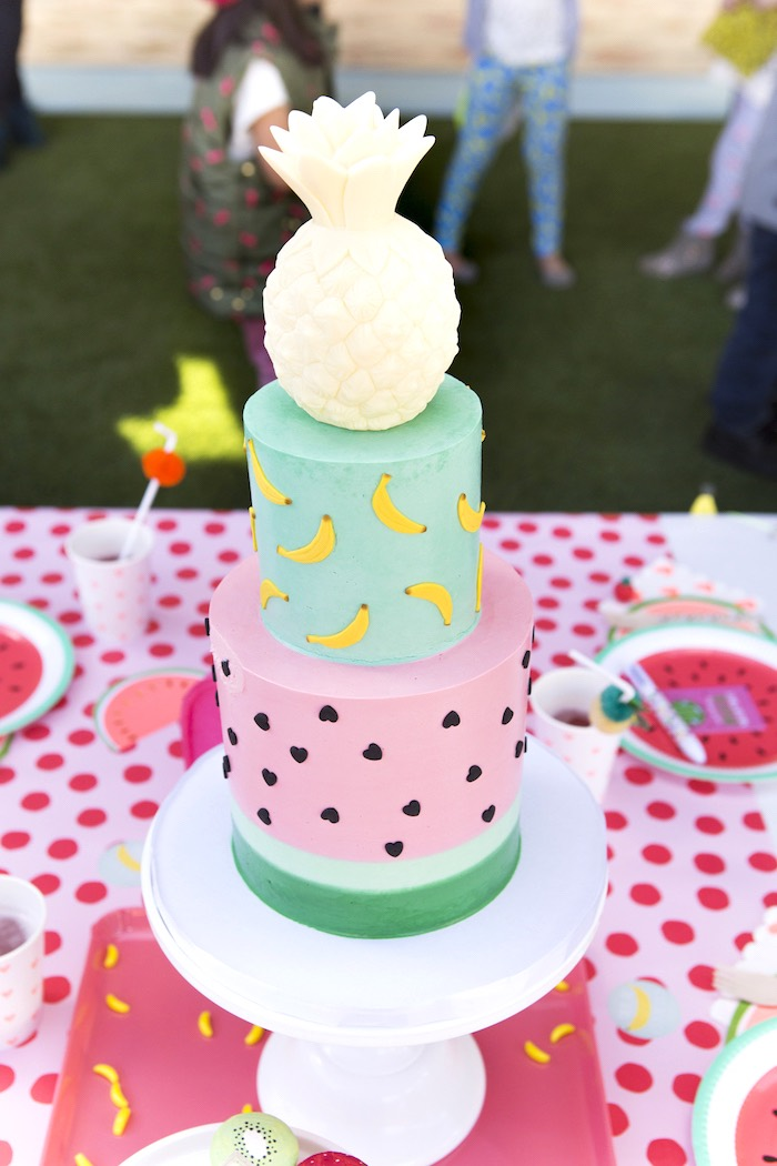 Kara S Party Ideas Tutti Frutti Valentine S Day Party