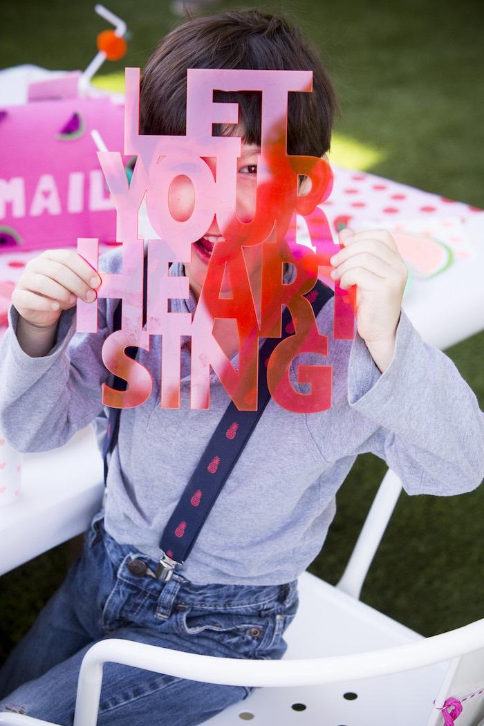 Tutti Frutti Valentine's Day Party on Kara's Party Ideas | KarasPartyIdeas.com (12)