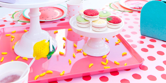 Tutti Frutti Valentine's Day Party on Kara's Party Ideas | KarasPartyIdeas.com (2)